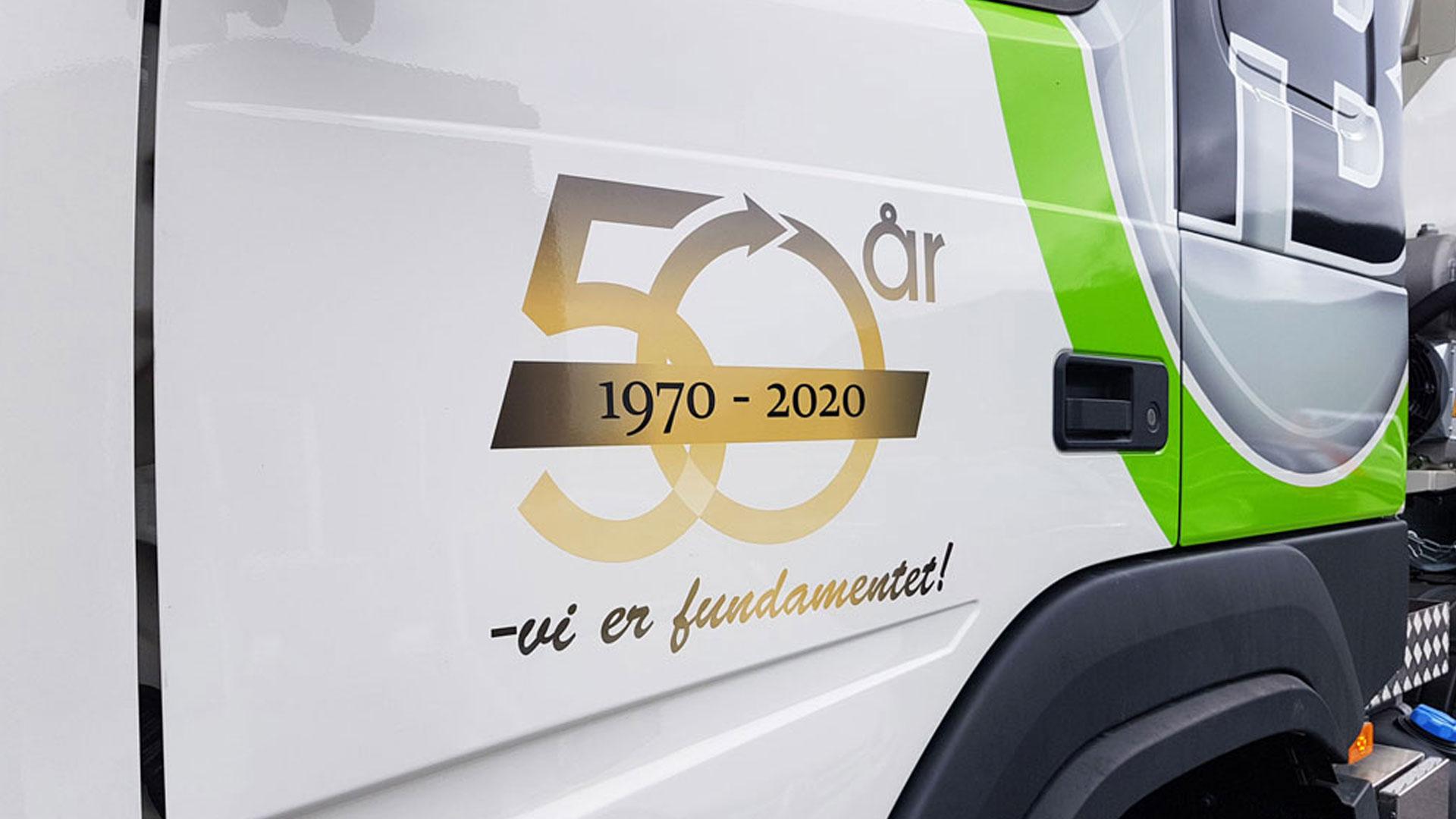 Hokksund Betong feirer 50 år i 2020