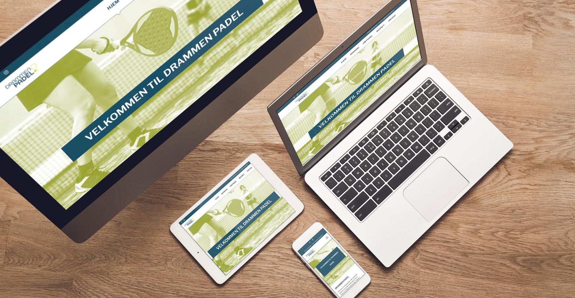 Nettsider tilpasset alle skjermstørrelser